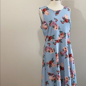{1X} GillI Floral Dress